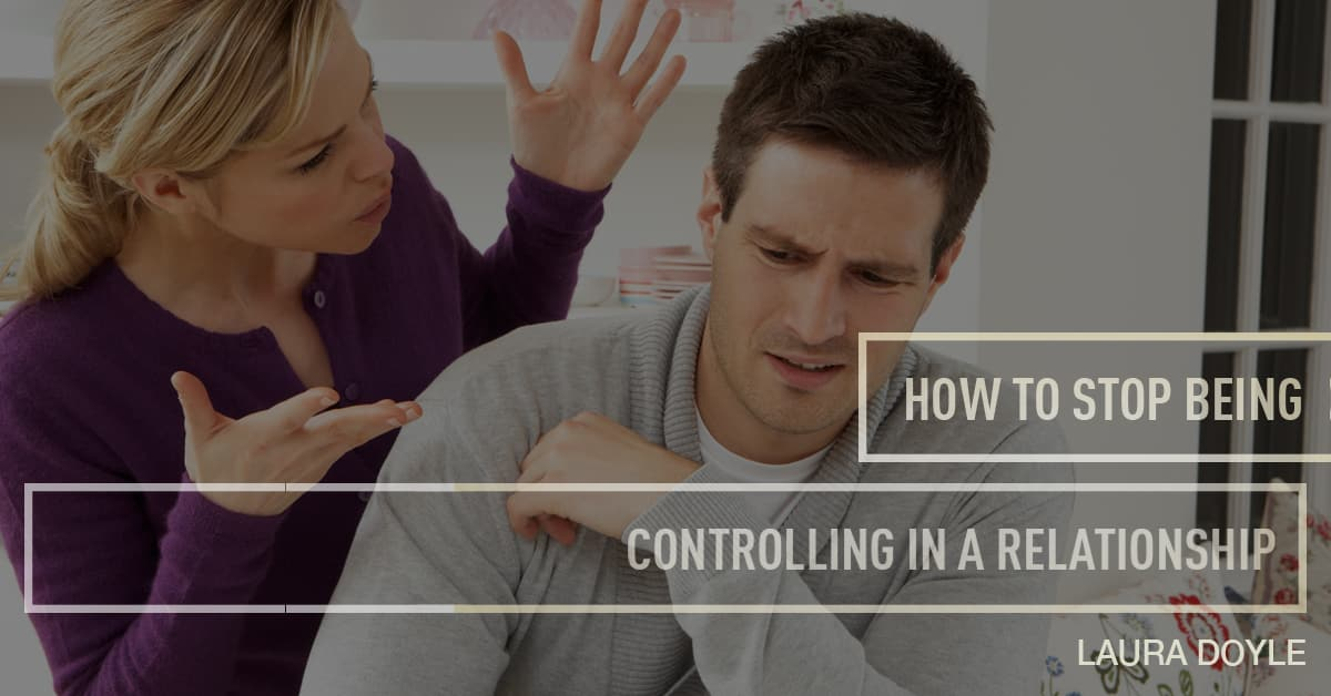 How to stop being a controlling person
