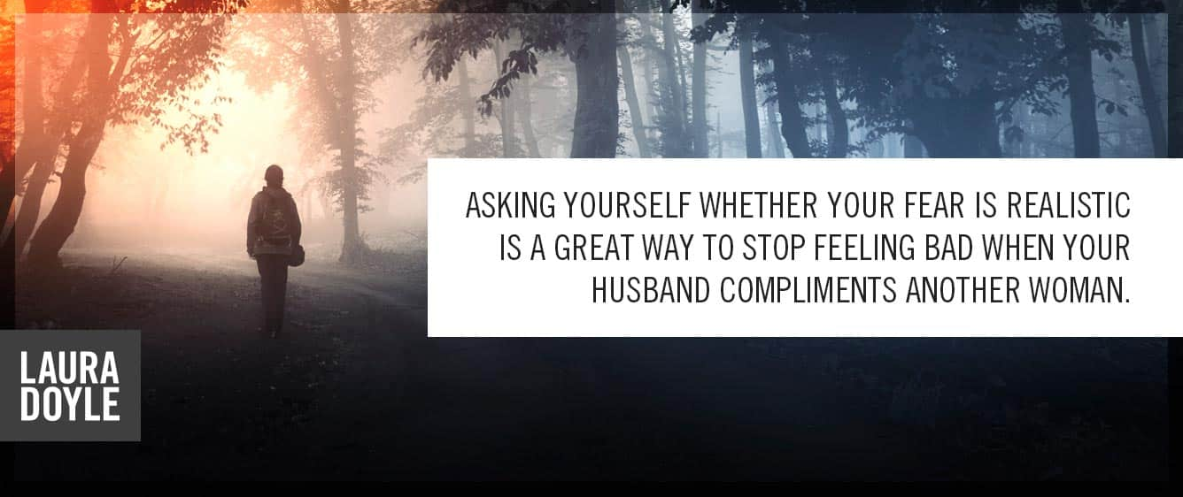 my husband complimented another woman