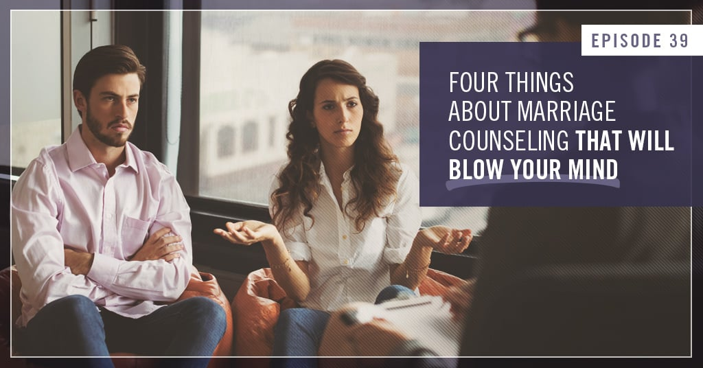 Can marriage counseling save my marriage